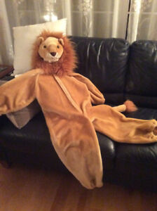 Costume Halloween lion peluche enfant jouet