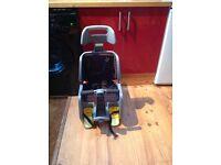 Child bike seat - rear fitting