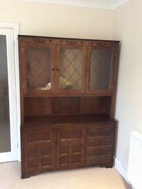 Welsh Dresser dark wood