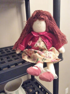 Vintage Hand made cloth Doll