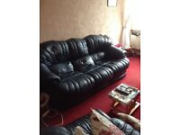 Hide three seater and two seater settees