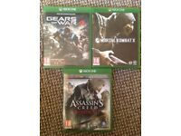 Xbox One Games, £25 for all.
