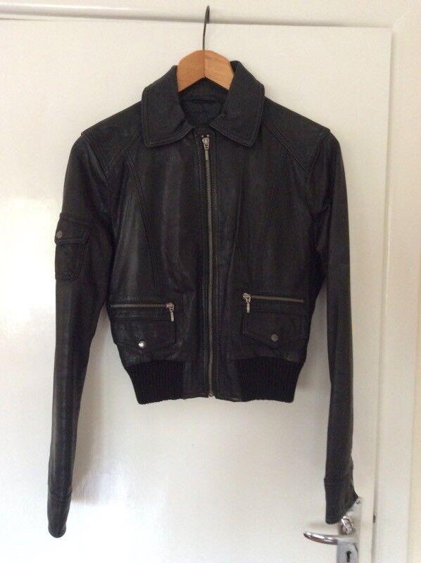 Ladies Leather Jacket size 8-10