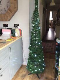 6ft slim profit Christmas tree rrp £29