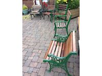 Various garden seats