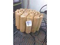 Garden log rolls