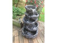5 tier stone effect water feature