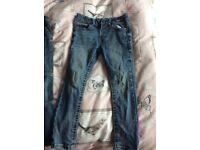 Boys aged 5 jeans