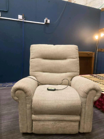 Electric rise and recline Armchair . Excellent condition