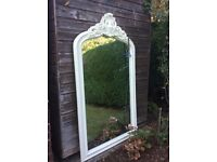VERY LARGE ARCHED TOP CREATED MIRROR