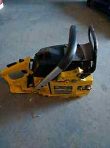 Mastercraft/ poulan 5600 series 56cc chainsaw countervibe