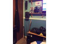Qtx studio monitors with active subwoofer