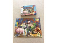 Complete 100 Piece Toy Story Jigsaw Puzzle