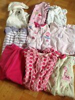 lot 9 pyjamas 3 mois pour fille