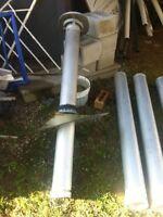 Chimney pipe b vent