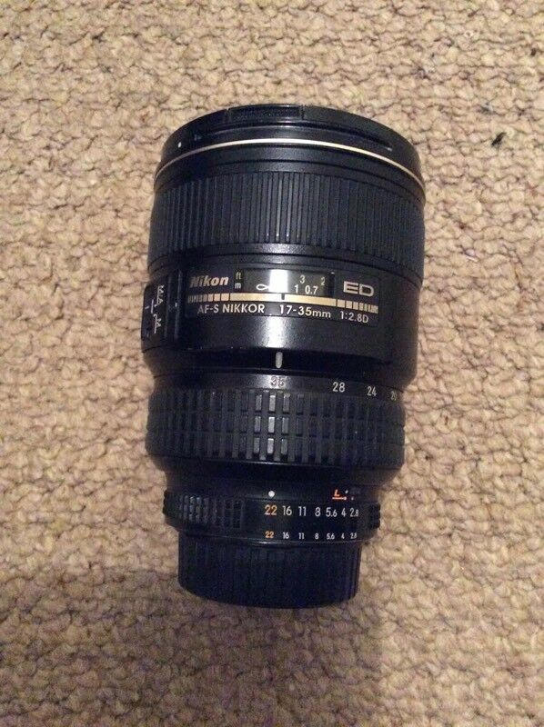 Nikon 17-35mm f2.8 full frame wide angle camera lens   in Mountain ...