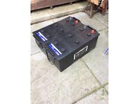 TRUCK BATTERYS X 2 in brand new condition