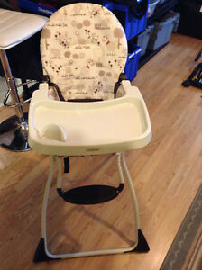 lovely high chair - only used at Grandma's house