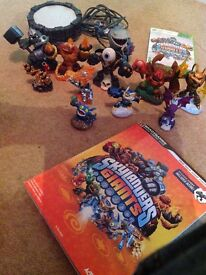 XBOX SKYLANDERS GIANTS BUNDLE