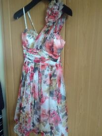 Quiz floral short dress Size 12