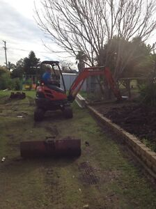 Small excavations, retaining walls, post holes, trenching Toowoomba Toowoomba City Preview