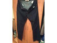 Men's Gap Boot Cut Jeans W34 L34 dark indigo, worn twice