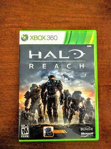 Halo  Reach et Resident Evil 5 Xbox 360