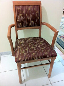 Wooden Cushion Chairs