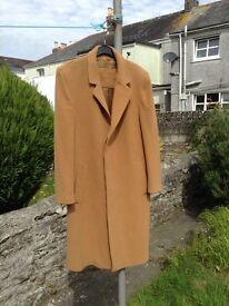 Man' Cashmere Overcoat