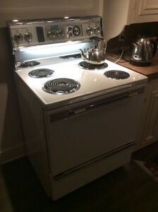 30' electric range