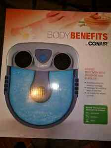 New Never Opened Massaging heated foot spa
