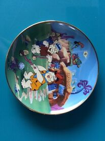 """Limited Edition Franklin Mint Collector Plate THE FLINTSTONES, """"WATCH THE BIRDIE"""