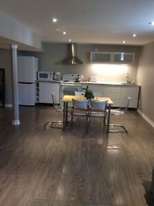 One Bedroom Basement Apartment in Milton (Unfurnished)