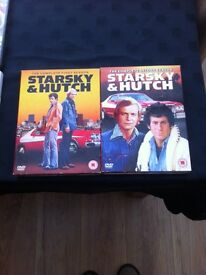 First and second season box sets of starsky and hutch DVDs