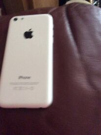 I phone 5 c 16 go in white on EE