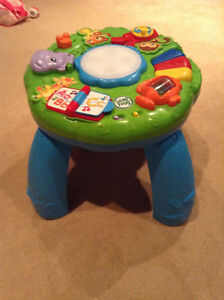 Leap Frog Activity Table (french version)