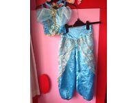 Disney Aladdin Princess Jasmine Dress up costume 3 - 4 years