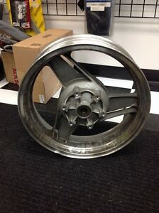 Bent rear wheel for 88 ZX10