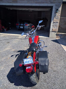 TWO HARLEYS:2005 DynaGlide LowRider(customize) & 2008 Softail-C