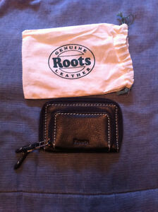 ROOTS GENUINE LEATHER WALLET!!!