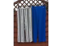 Two pairs of river island trouser sz 12