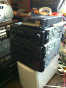 3  CD  CAR  STEREOS  ALL WORK  all for  30.00