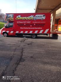 Edinburgh removals/short notice specialist/man and van or full house