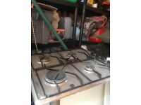 Whirlpool gas hob and extractor hood