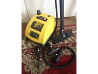Polti Vaporetto 1500 Steam Cleaner made in Italy for rugs and carpets