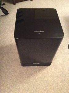 "Harman Kardon Powered 100w, 10"" Subwoofer for parts or repair"