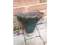 Antique cast iron drain Hopper