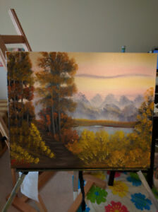 Original Art work - Oil Paintings (stretched)