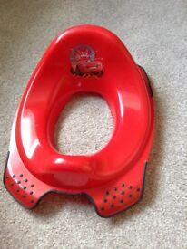 Disney Cars toilet training seat