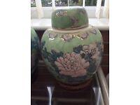 Thai Decorative Ginger Jar